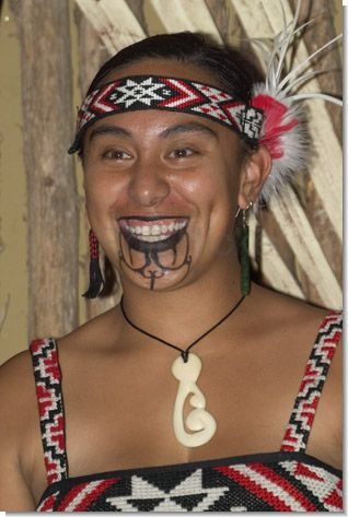 татуировка маори