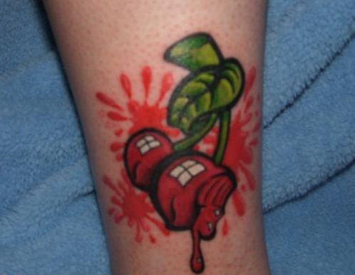 вишня, татуировка