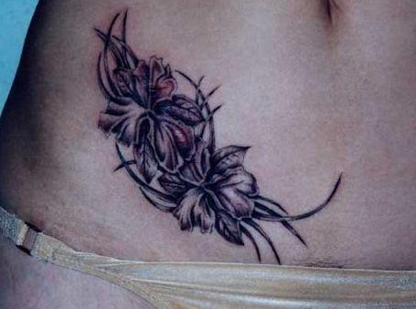 жасмин, татуировка